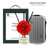 포시즌 선물세트 디퓨저 50ml 카네이션+캐리어파우치