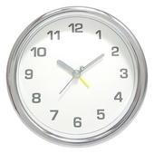 심플크롬알람탁상시계