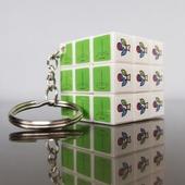 큐브3x3 열쇠고리