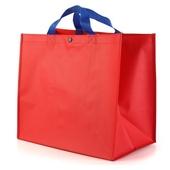 [시장가방] 빨강타포린가방 대(大) 쇼핑백