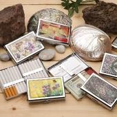 고급 나전 다용도 케이스 메탈 담배케이스 명함지갑 에쎄 에세
