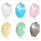 55 고급 투명우산 (흰색)