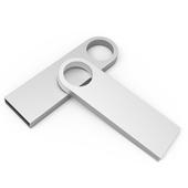 메탈 라운드 USB 4GB