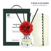 포시즌 선물세트 디퓨저 120ml 카네이션+장타올