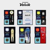 볼빅 칼라볼 3구 선물세트 (2pc) 볼마커 인쇄