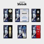볼빅 S3 3구 선물세트 (3PC) 화이트 우레탄 골프공 볼마커 인쇄