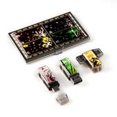 제이메타 C타입 OTG T30 C 골드 사군자 자개 명함 세트 8GB