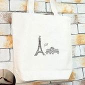 파리의연인 에코백
