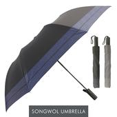 송월우산 SW 2단우산 격자문양 우산 s