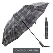 송월우산 SW 2단우산 모던체크 우산 s