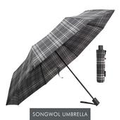 송월우산 SW 3단우산 모던체크 우산 s