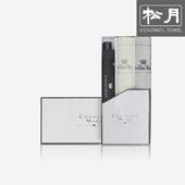 [송월 우산선물세트]카운테스마라 3단폰지 1p + 라인체크2p