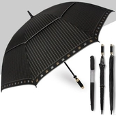 (방풍금줄골프자동)75 이중 장우산