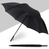 (폰지무지자동사각손잡이)-82 화이바 장우산