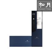 [송월 우산선물세트]카운테스마라 2단 다이아라인 1p + 써클1p