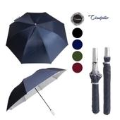 클라우드필라 2단실버/2단우산.2단자동우산