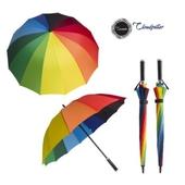 클라우드필라 무지개우산(일자)/장우산.자동우산