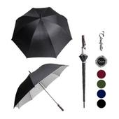 클라우드필라 70실버화이바/장우산 자동우산