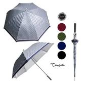 클라우드필라 70체크실버(대동)화이바/장우산.자동우산