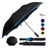 미켈란젤로 2단폰지칼라엠보/방풍우산.2단우산.2단자동우산