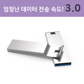 메탈 엣지 USB 3.0 8GB