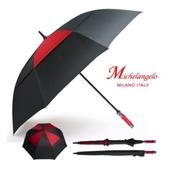 미켈란젤로 75칼라이중방풍자동/장우산.자동우산.골프우산