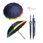 미켈란젤로 55폰지 멜빵무지개보다우산/장우산.