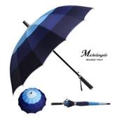 미켈란젤로 55폰지4색나염/장우산 자동우산