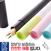 내츄럴색연필 3P [원통세트]