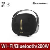 Wi-Fi연결/블루투스스피커/200W급 리얼우퍼 락클래식Q80+