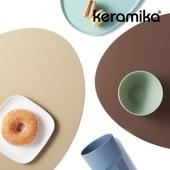 케라미카 실리콘 테이블 매트