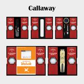 캘러웨이 크롬소프트 6구 선물세트 (4pc)
