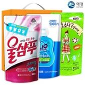 애경 울샴푸 리큐 베이킹_소다주방세제315리필(3종)