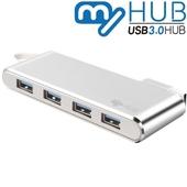 마이허브 4포트 USB3.0 알루미늄허브 UA4-AS