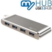 마이허브 4포트 C타입 USB3.0 알루미늄허브 UA4-CS