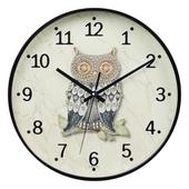 부엉이심플벽시계