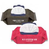 고품격안심물티슈/로즈카모마일/차콜그린티/100매캡형