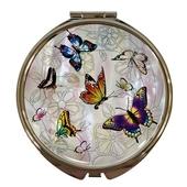 자개손거울-나비의꿈, 나비의숲, 홍매화