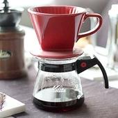 커피 드립퍼 (레드)