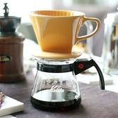 커피 드립퍼 (옐로우)