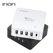 [멀티충전기]아이논 퀵차지 3.0 5포트 USB PD 멀티충전기 IN-UC510P