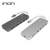 [허브]아이논 USB C타입 to 3.0 4포트 with HDMI / SD / Micro SD 허브 IN-UH210C