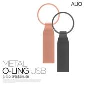 ALIO 메탈O-RING USB 메모리 4G