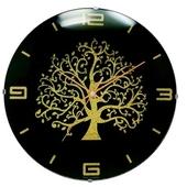 볼록나무벽시계
