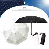 5단 암막 양우산 - 티아라 /미니/컬러다양/자외선차단/양산겸용/리버설