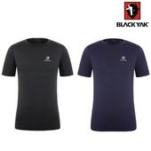 블랙야크 봄 여름 남성 기능성 라운드 반팔 티셔츠