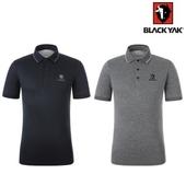 블랙야크 봄 여름 남성기능성 폴로 반팔 카라 티셔츠