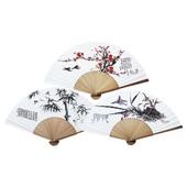오죽선(대/기성/대나무,매화,난초) 전통부채