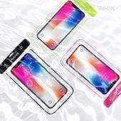 림엑스 빛나는 형광라운드 스마트폰 방수팩 U7