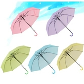파스텔 칼라 장우산